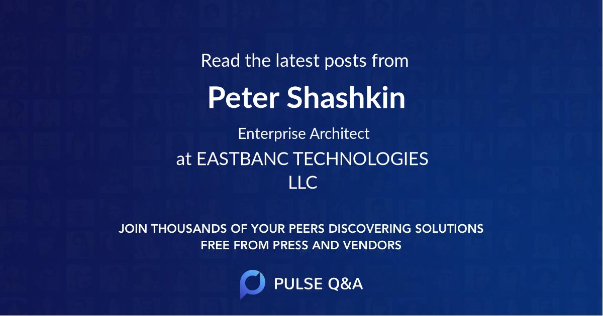 Peter Shashkin