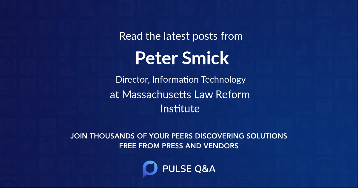 Peter Smick