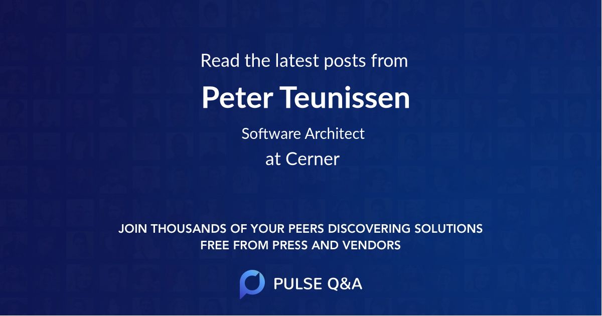 Peter Teunissen