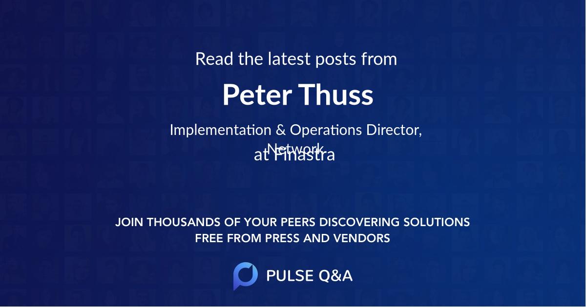 Peter Thuss