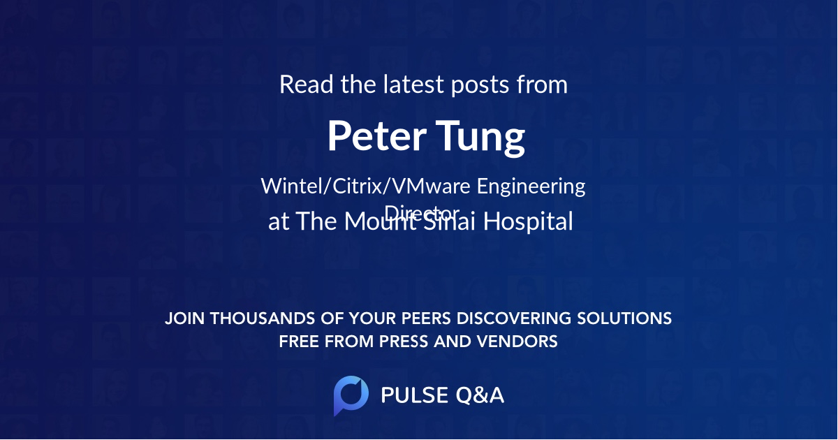 Peter Tung