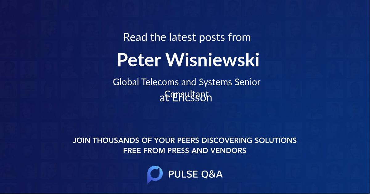 Peter Wisniewski