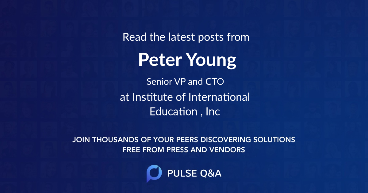 Peter Young