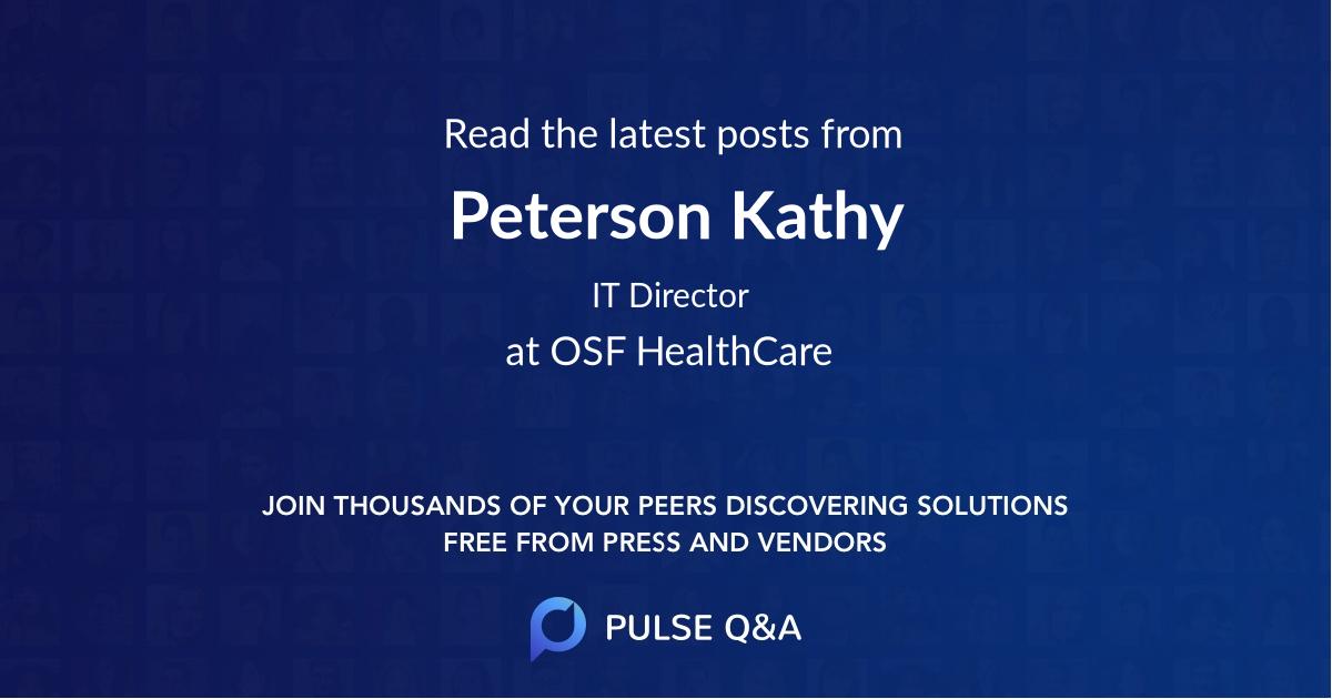 Peterson Kathy