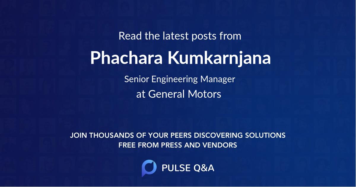 Phachara Kumkarnjana