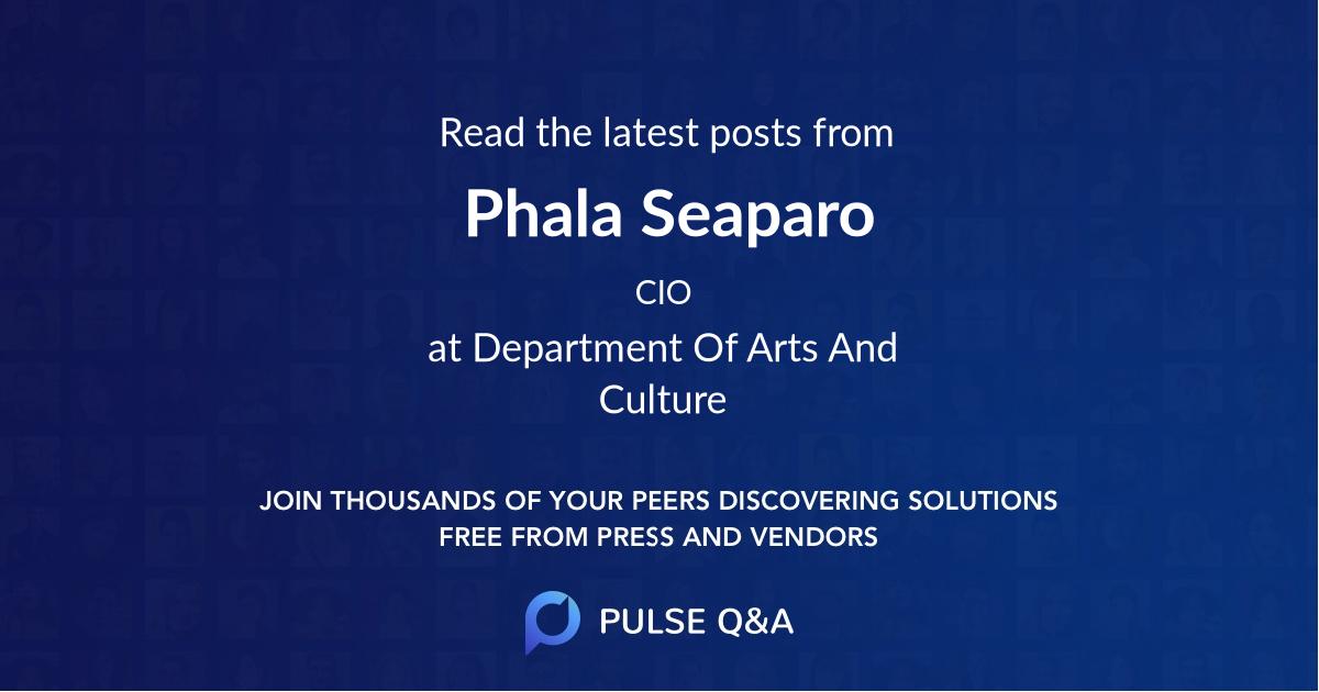 Phala Seaparo
