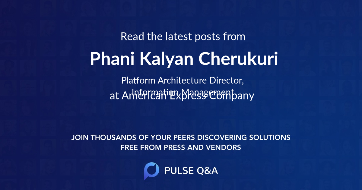 Phani Kalyan Cherukuri