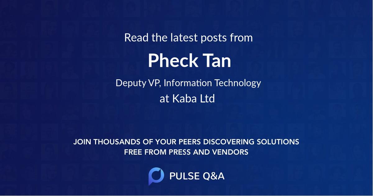 Pheck Tan