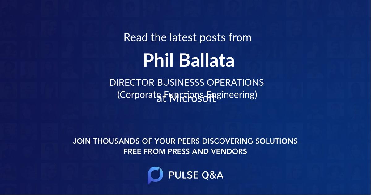 Phil Ballata