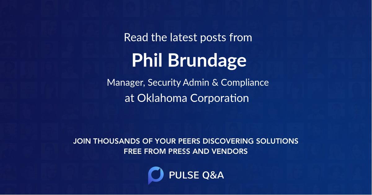 Phil Brundage