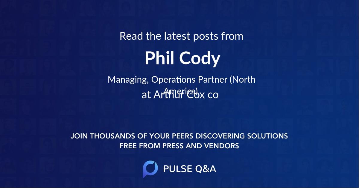Phil Cody