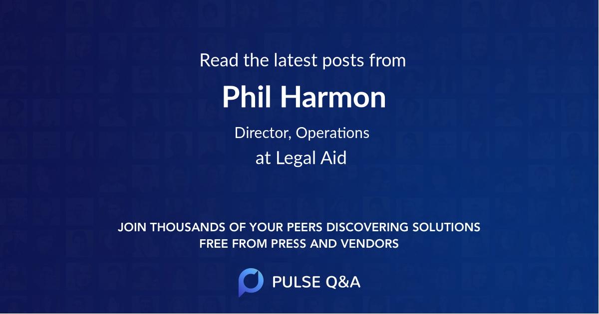 Phil Harmon