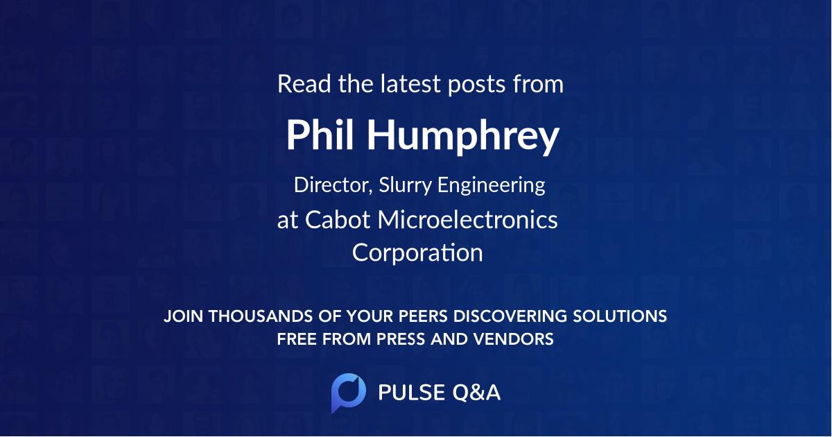 Phil Humphrey