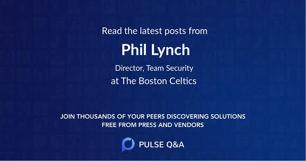 Phil Lynch