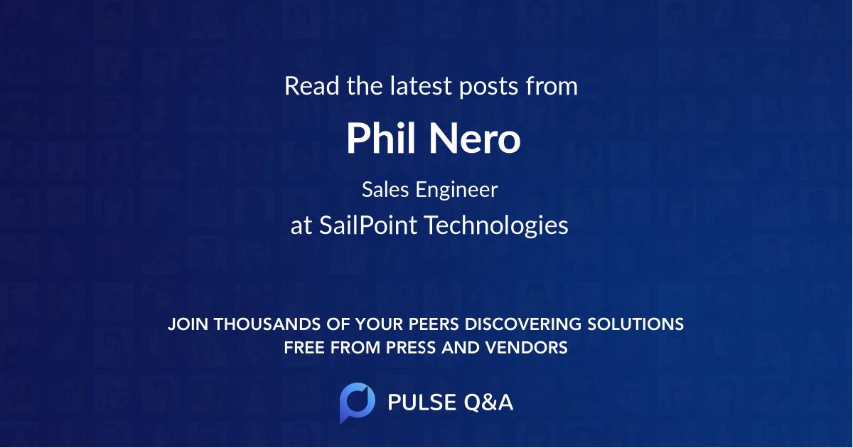 Phil Nero