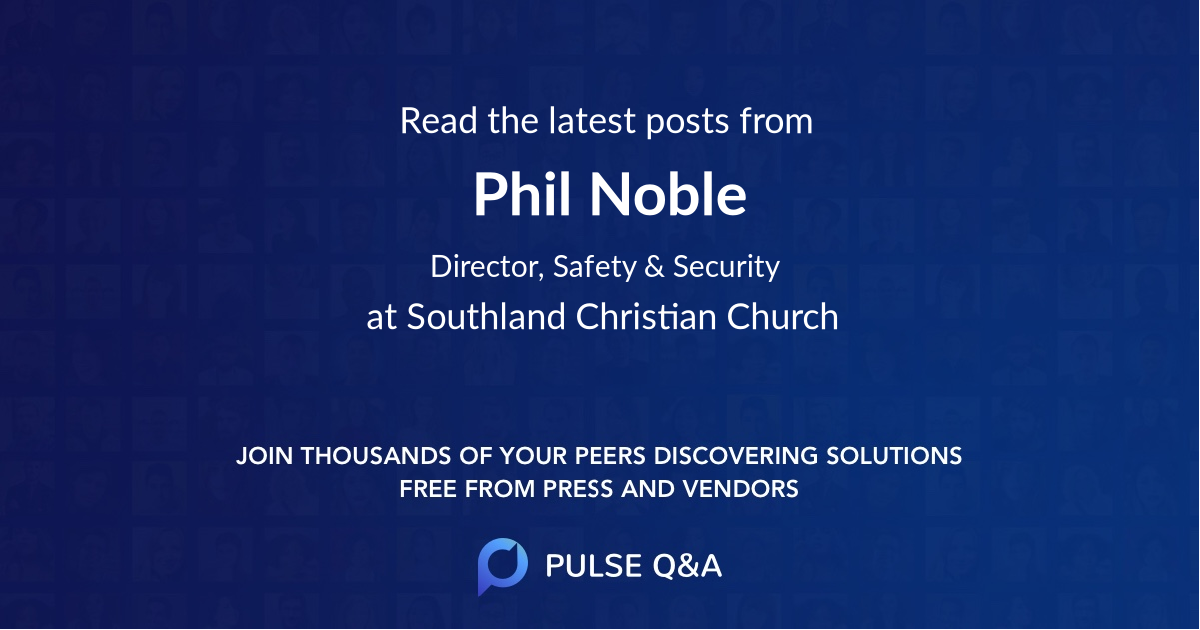 Phil Noble