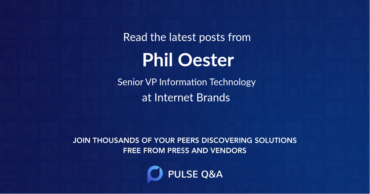 Phil Oester