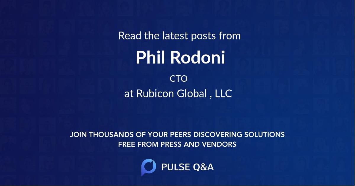 Phil Rodoni