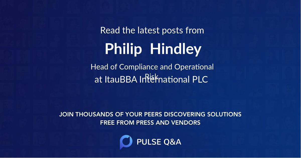 Philip  Hindley