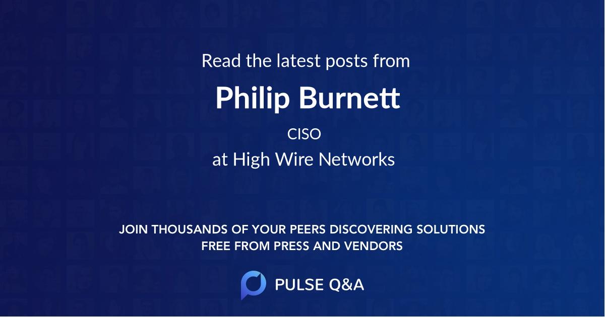 Philip Burnett