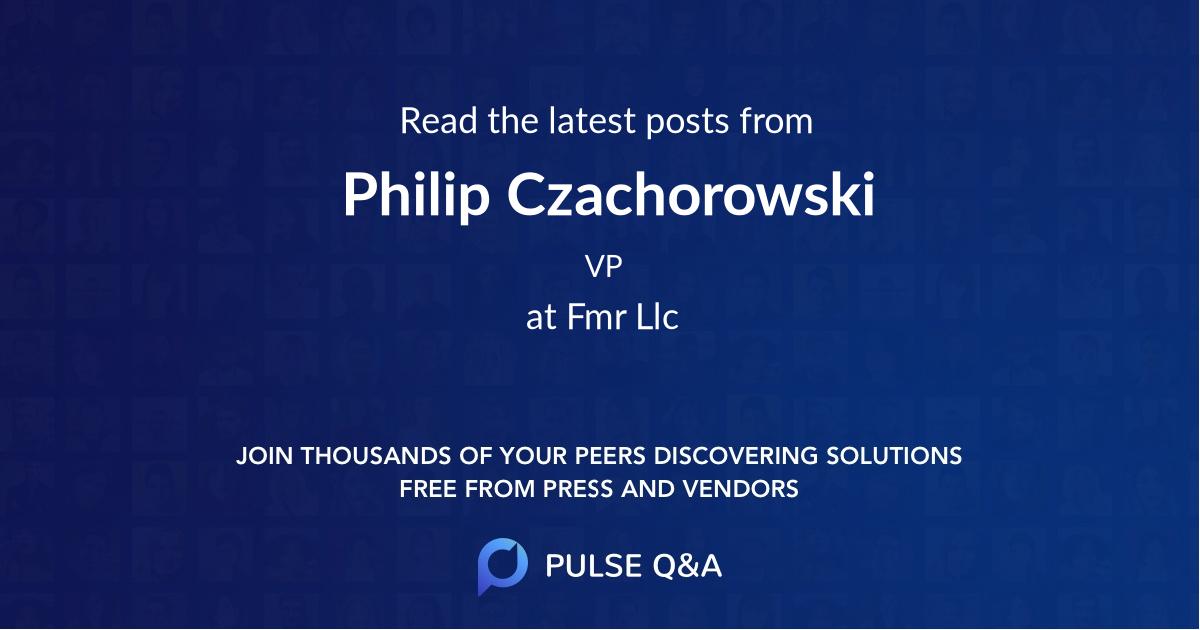 Philip Czachorowski