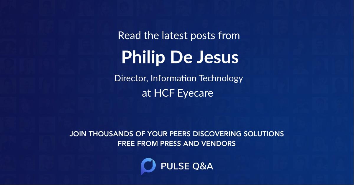 Philip De Jesus