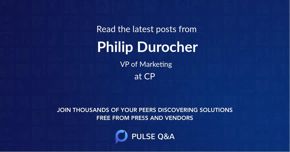 Philip Durocher