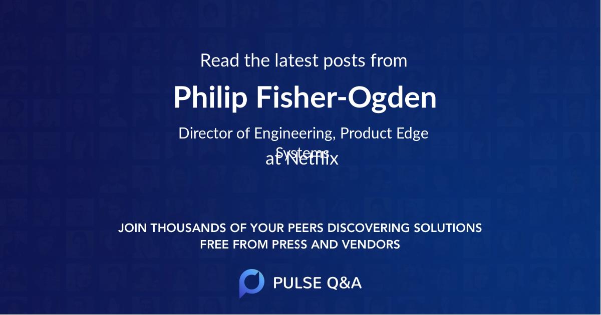Philip Fisher-Ogden
