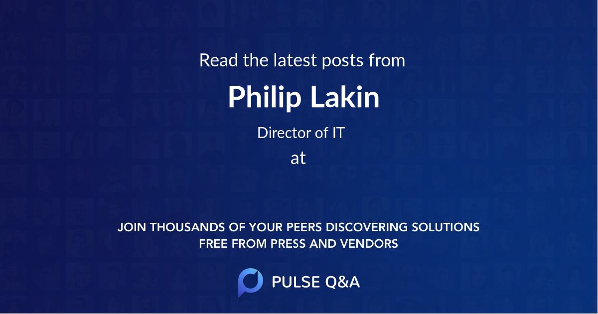Philip Lakin