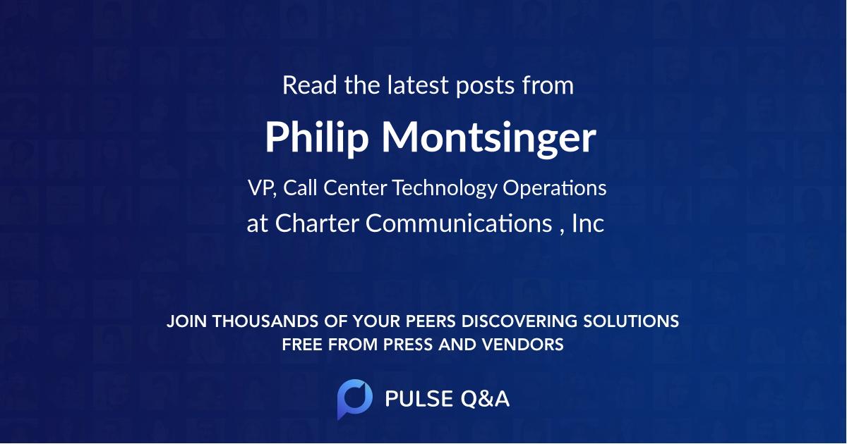 Philip Montsinger