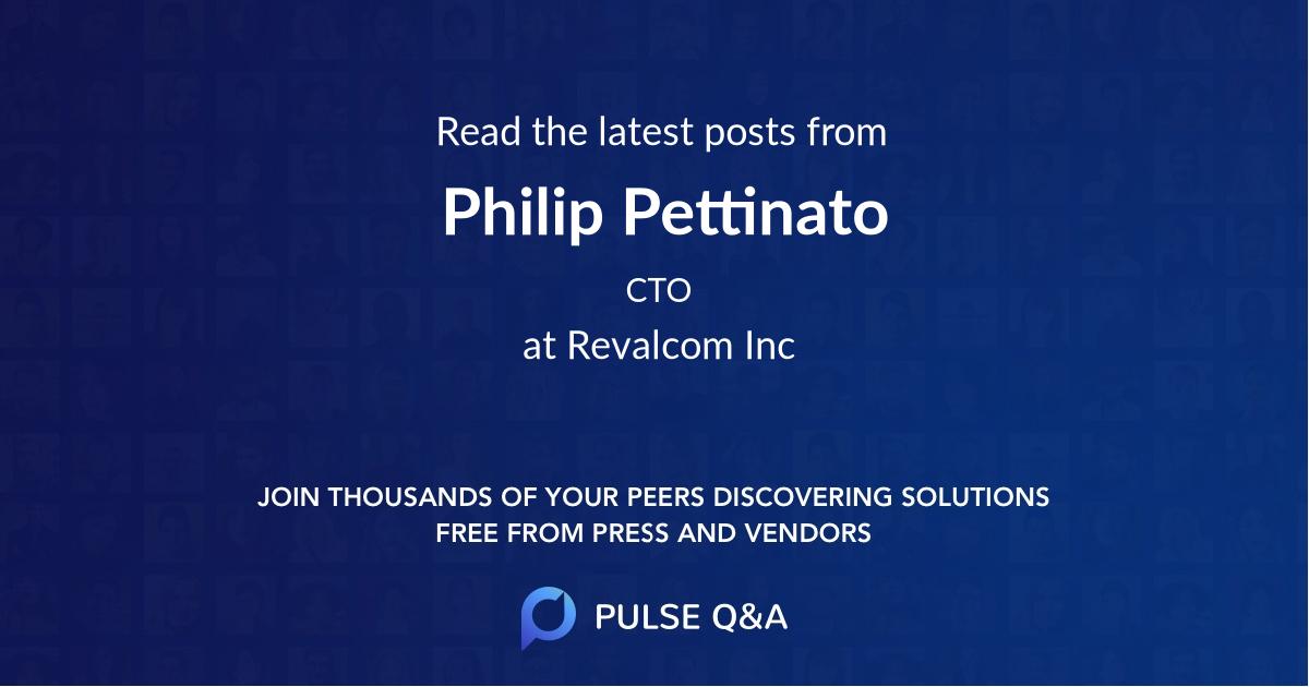 Philip Pettinato