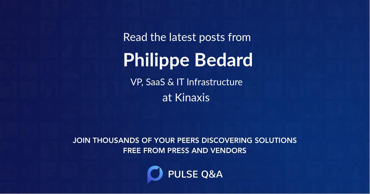 Philippe Bedard