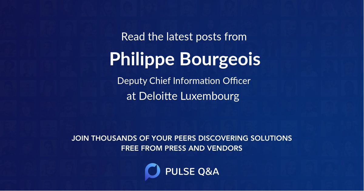 Philippe Bourgeois