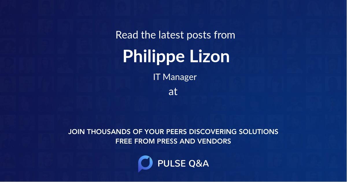 Philippe Lizon