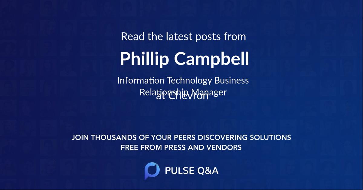Phillip Campbell