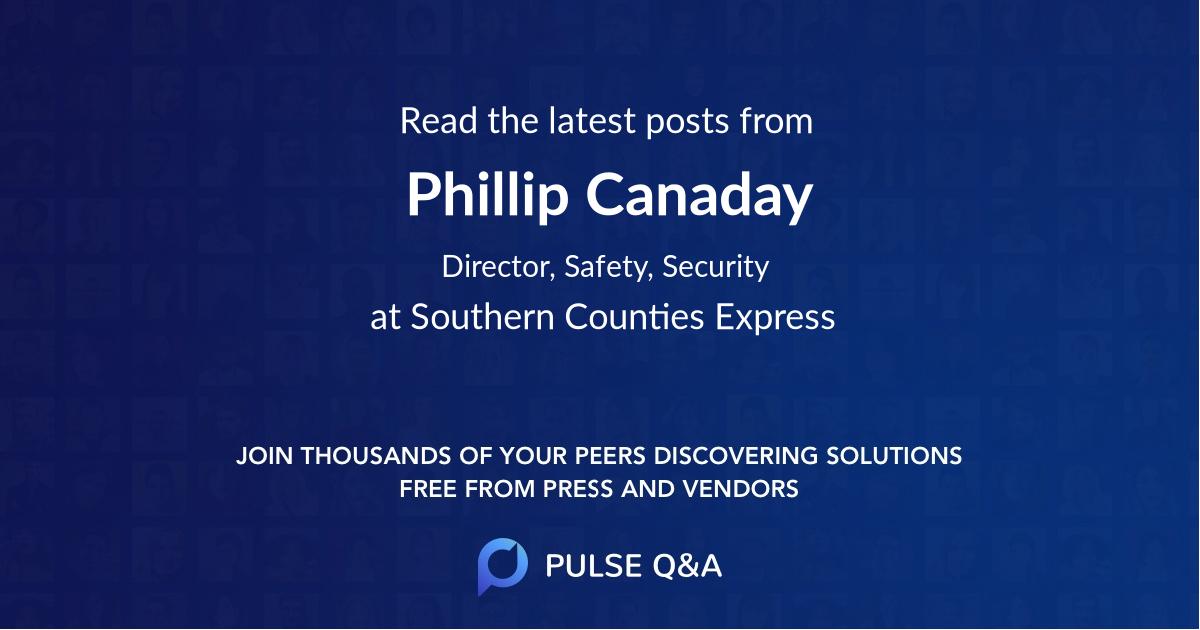 Phillip Canaday