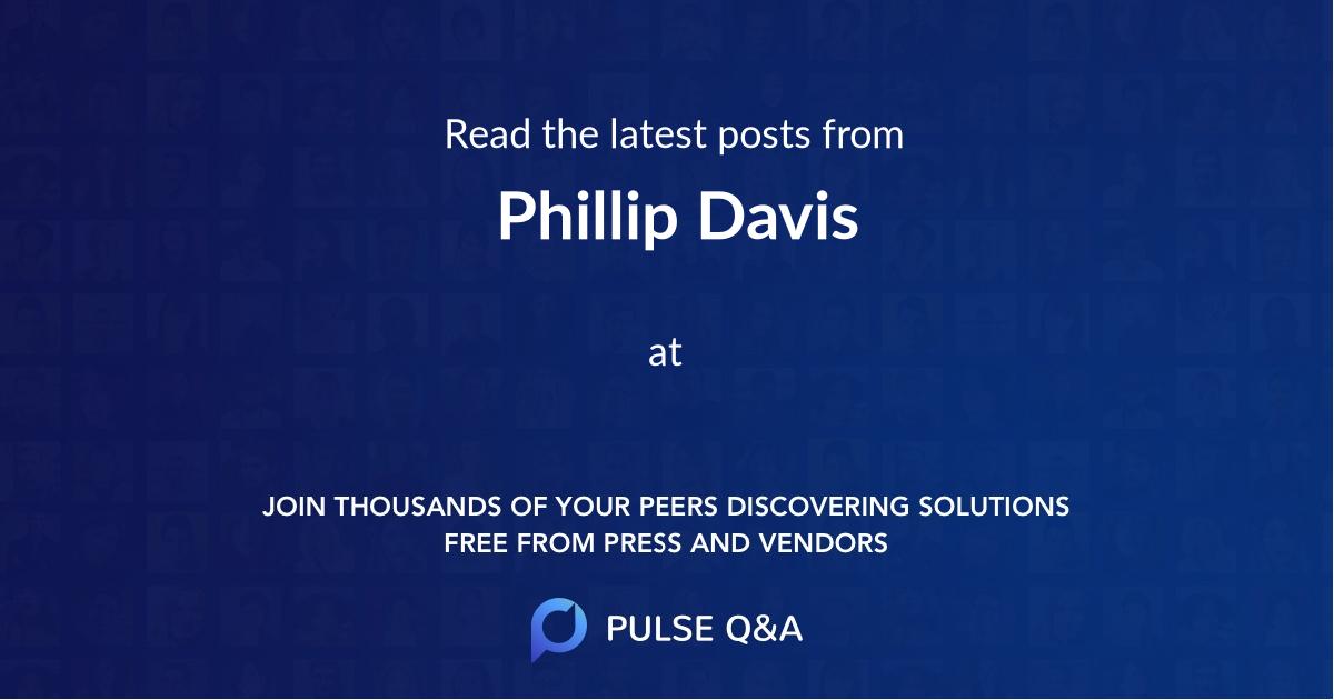 Phillip Davis