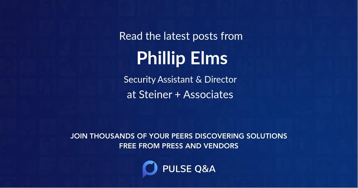 Phillip Elms