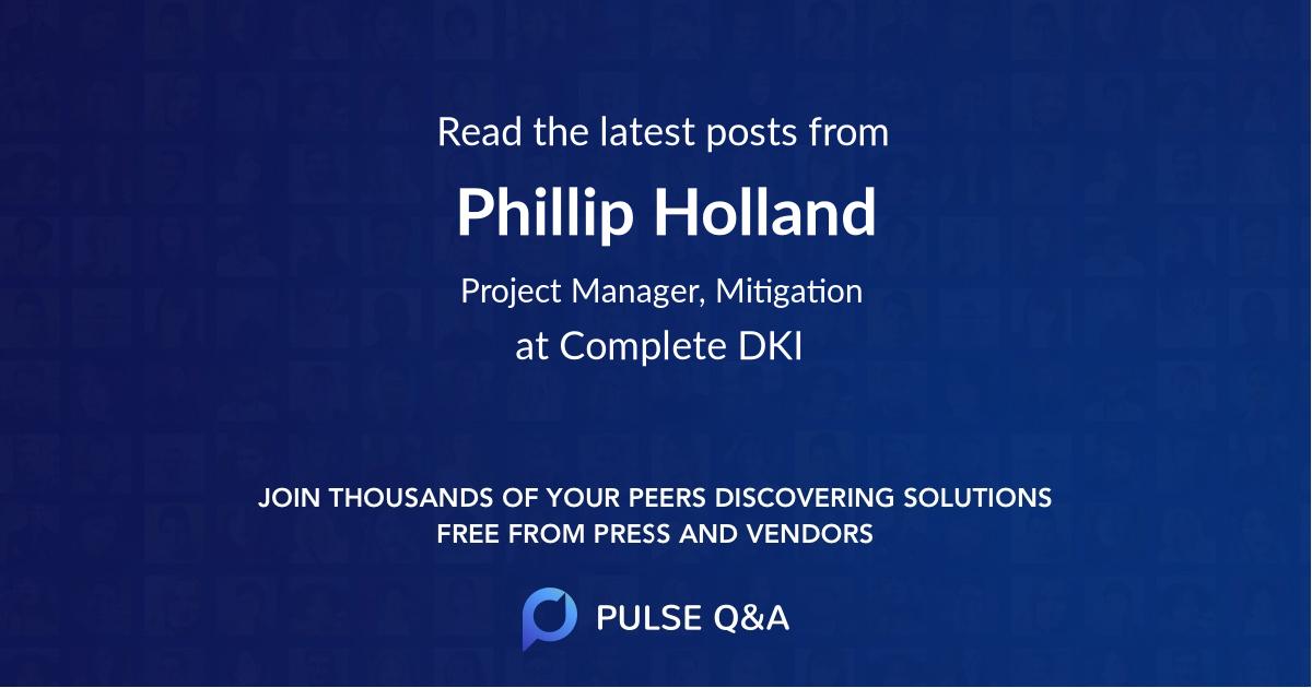 Phillip Holland