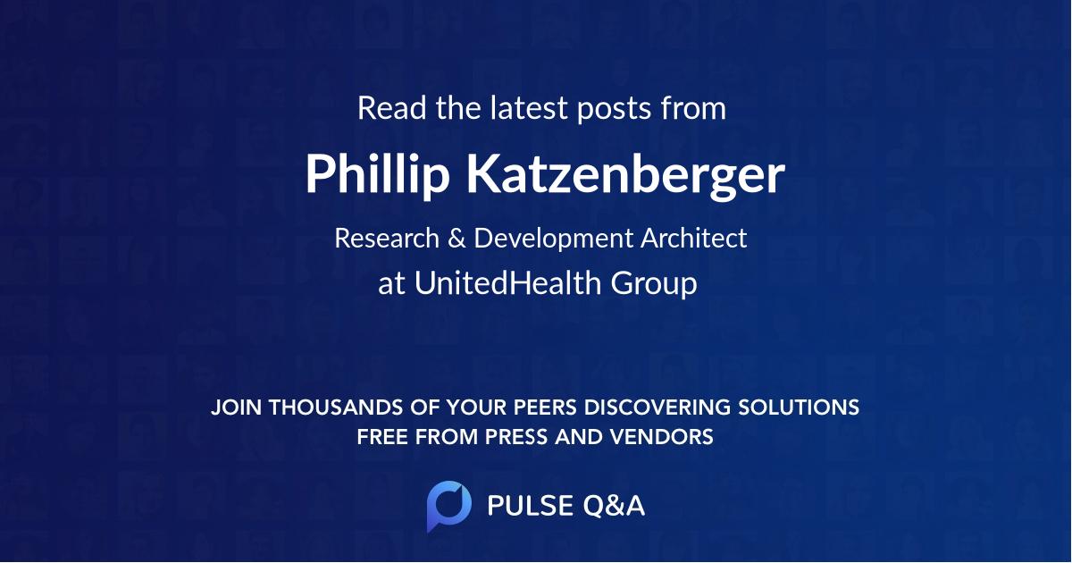 Phillip Katzenberger
