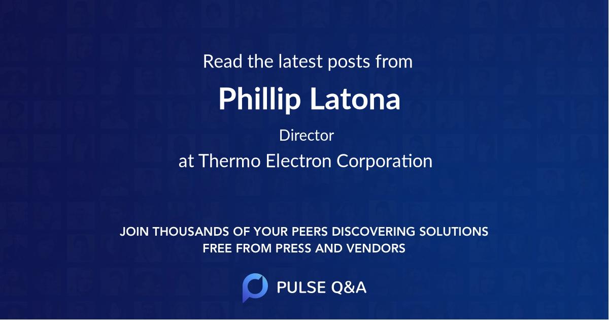 Phillip Latona