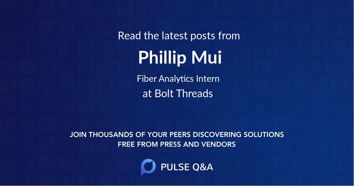 Phillip Mui