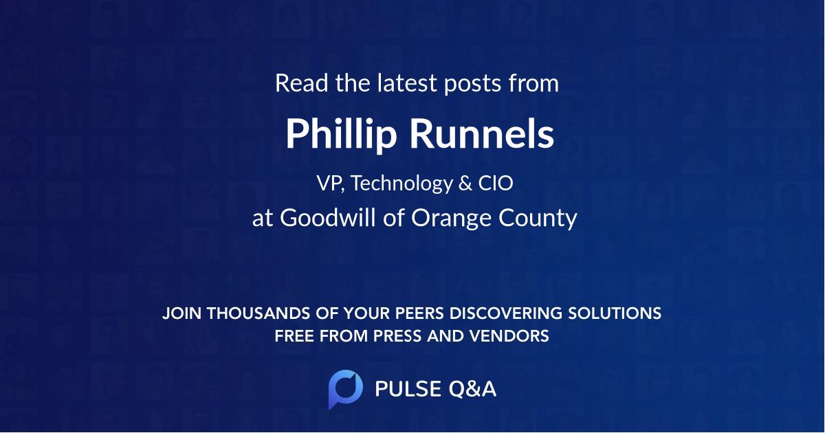 Phillip Runnels