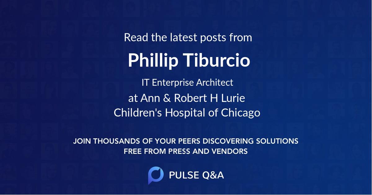 Phillip Tiburcio