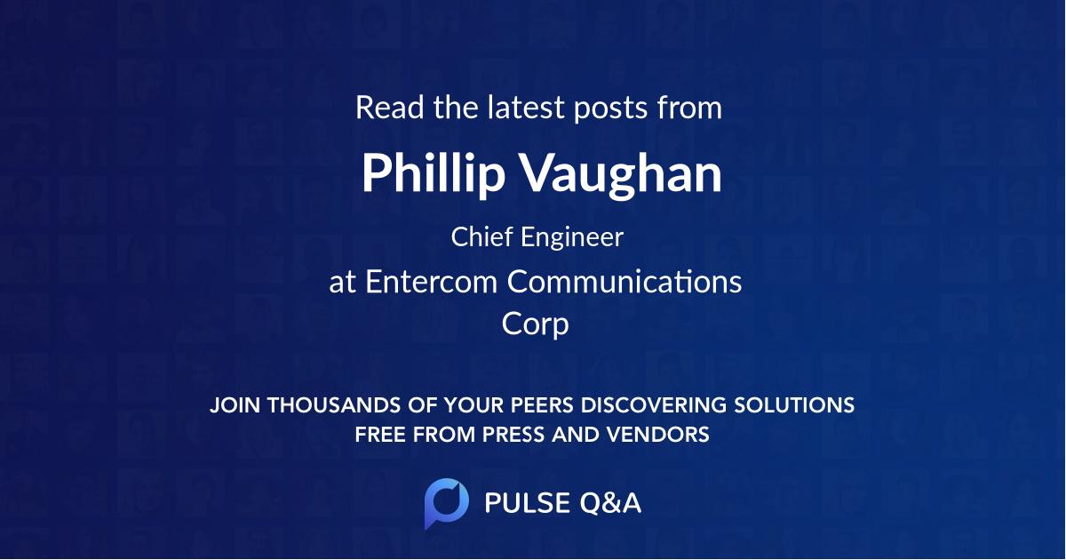 Phillip Vaughan