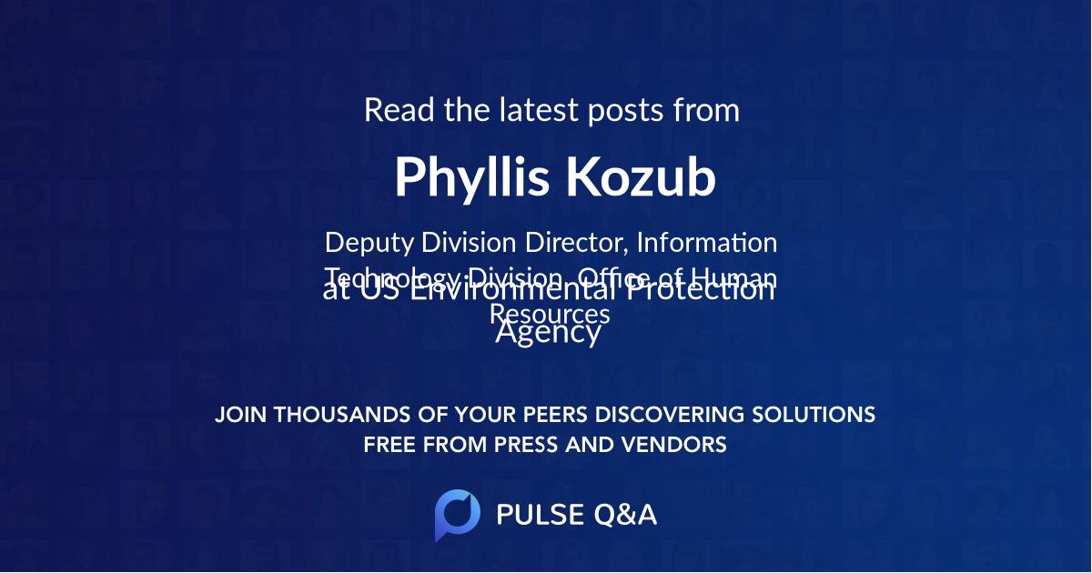 Phyllis Kozub