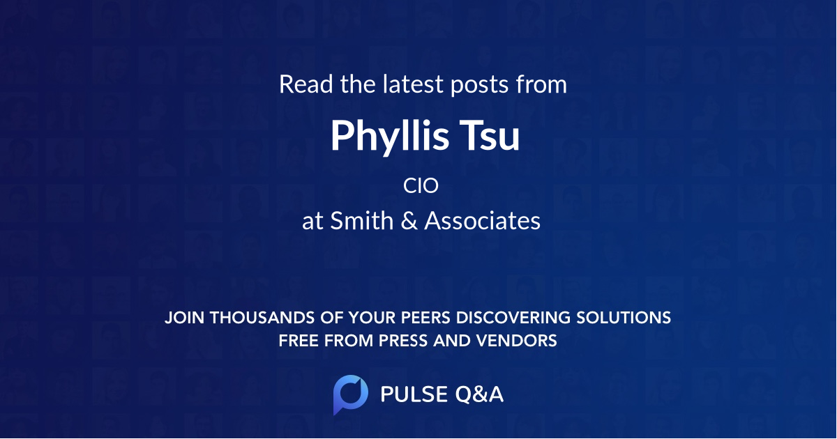Phyllis Tsu