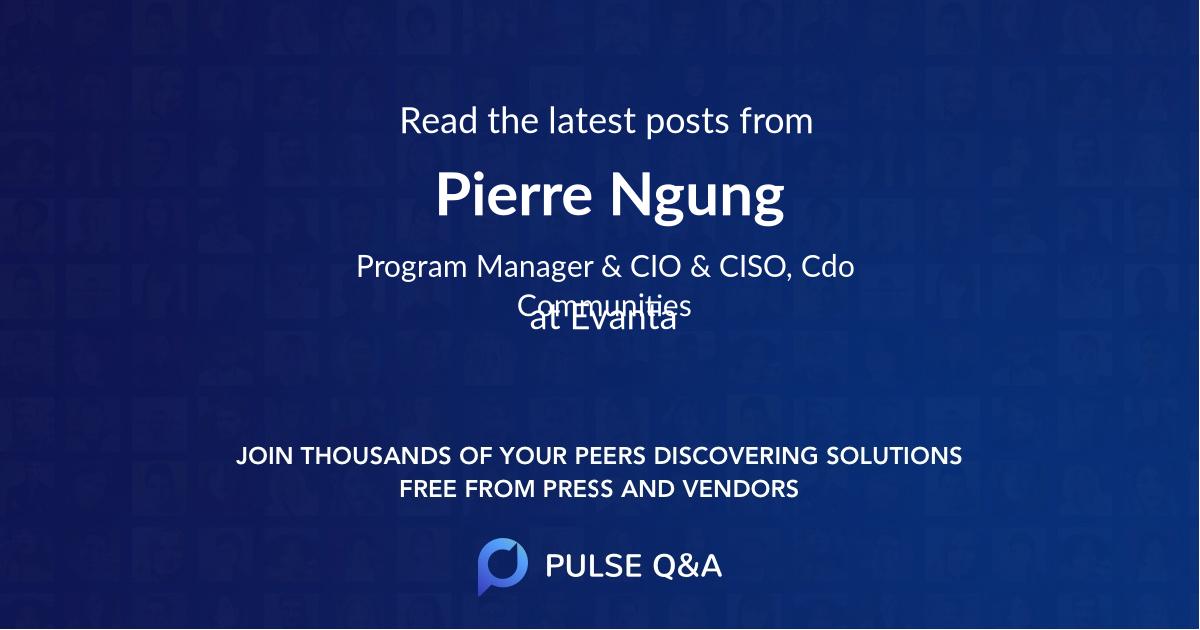 Pierre Ngung