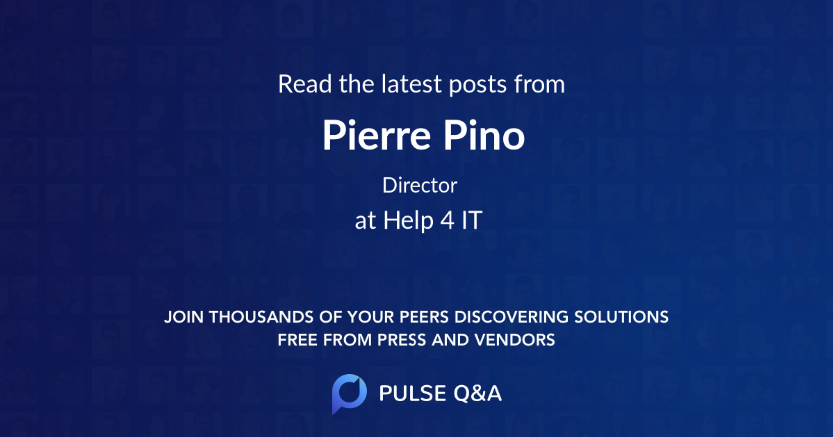 Pierre Pino