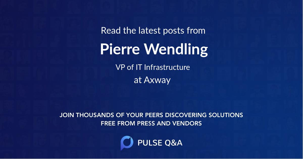 Pierre Wendling